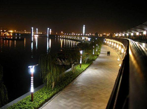 全国各地开展城市路灯照明升级改造,打造特色夜景亮化湿度传感器
